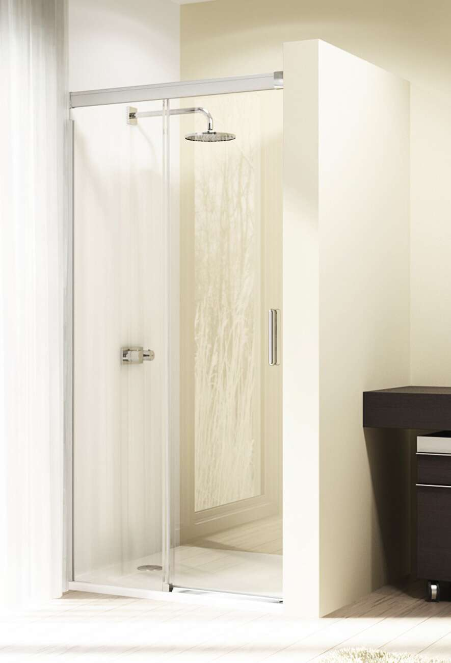 huppe design elegance douche schuifdeur met vast element. Black Bedroom Furniture Sets. Home Design Ideas