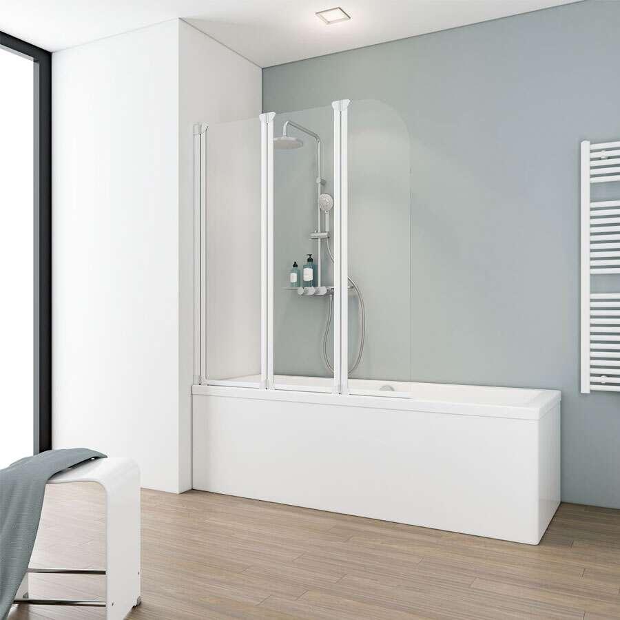 schulte alexa style badwand 3 delig d1654. Black Bedroom Furniture Sets. Home Design Ideas