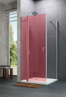 huppe design 501 pure draaivouwdeur 2 delig rechts. Black Bedroom Furniture Sets. Home Design Ideas