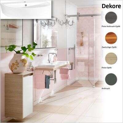 badmeubels met een breedte van 65 85 cm voor voordelige prijzen bij. Black Bedroom Furniture Sets. Home Design Ideas