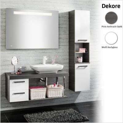 fackelmann badmeubelset zeer gunstige prijzen bij douche. Black Bedroom Furniture Sets. Home Design Ideas