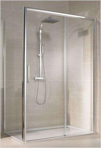 douchedeur en zijwand voor naast het bad koopt u voordelig bij douche. Black Bedroom Furniture Sets. Home Design Ideas