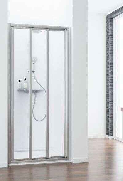 schulte kristall trend schuifdeur 3 dlgvoor een nis of zijwand. Black Bedroom Furniture Sets. Home Design Ideas