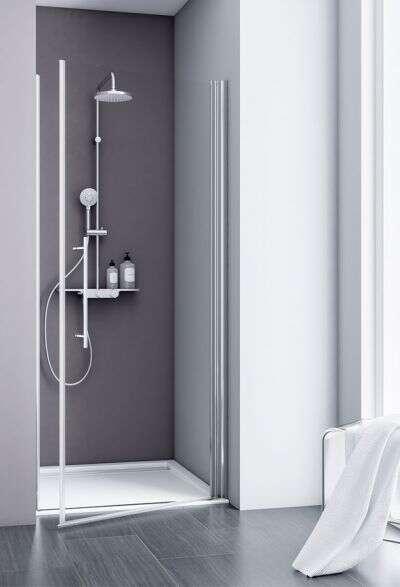 douchedeur voor in een nis voordelig en snel bestellen bij douche. Black Bedroom Furniture Sets. Home Design Ideas