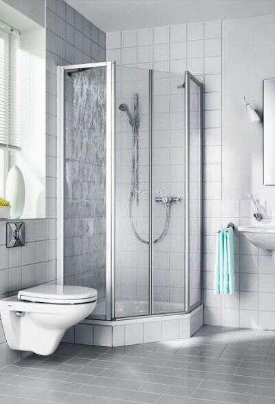 vijfhoek douche zonder verzendkosten bij douche. Black Bedroom Furniture Sets. Home Design Ideas