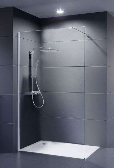 DuGU Dusar Palladium Neo 8 mm Walk-in douchewand diversen afmetingen